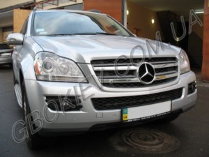 ГБО на Mercedes Benz GL 450 с установкой в Киеве