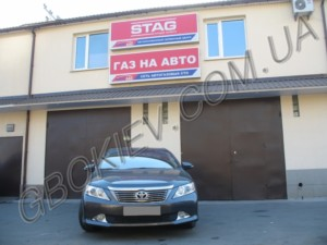 ГБО на Toyota Camry 2.5-V50 stag