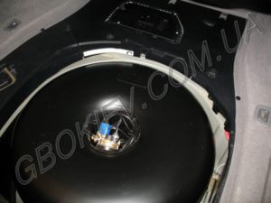 Газовый баллон 67 литров на BMW 730 Stag