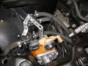 Диагностика гбо на BMW 730 Stag