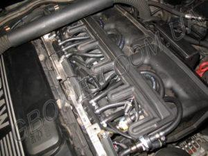 Газ на BMW 730 Stag