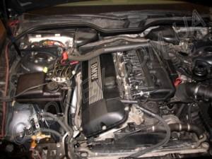 Газовое оборудование на BMW 730 Stag